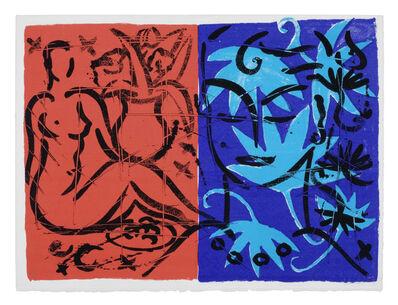 Stefan Szczesny, 'Jacaranda Garden Mustique Diary', 1999