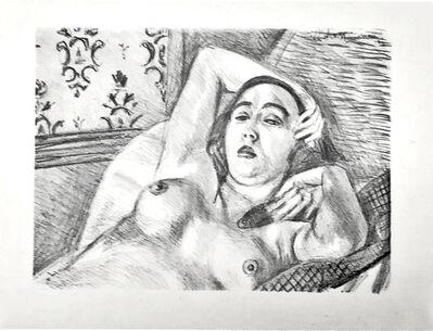 Henri Matisse, 'Le repos du modele ', 1922