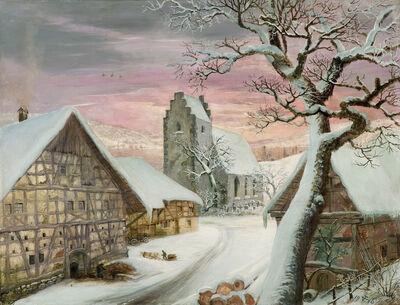 Otto Dix, 'Hemmenhofen in winter', 1940