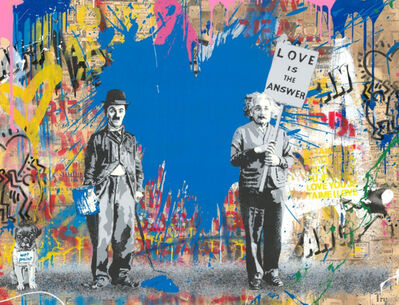 Mr. Brainwash, 'Juxtapose', 2018