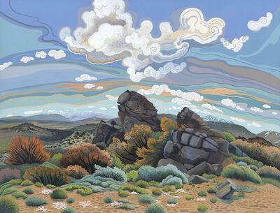Phyllis Shafer, 'Sagehen Peak', 2019