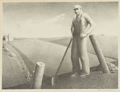 Grant Wood, 'In the Spring', 1939