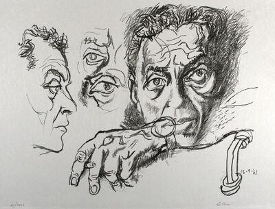 Renato Guttuso, 'Selbstbildnis', 1965