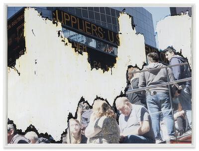 Analia Saban, 'Scrapped (Times Square)', 2014