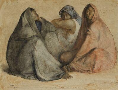 Francisco Zúñiga, 'Dos madres e hija'