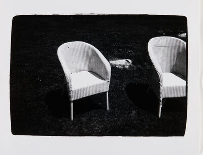 Andy Warhol, 'Andy Warhol, Wicker Chairs in Montauk'