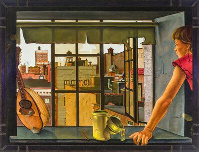 Jules Kirschenbaum, 'Young Woman at a Window', 1953-1954