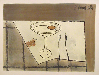 Bernard Buffet, 'Table Setting', 1959