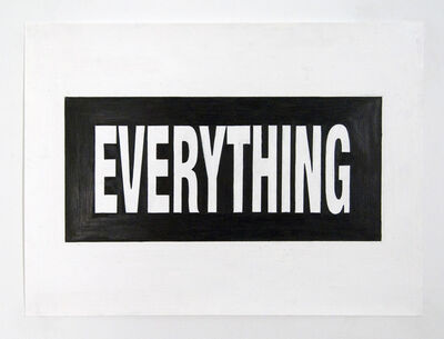 Joe Nanashe, 'Everything', 2009