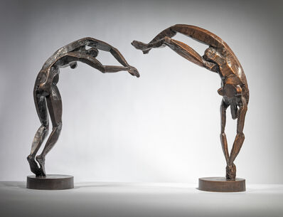 Sophie Dickens, 'Diving Women pair', 2019