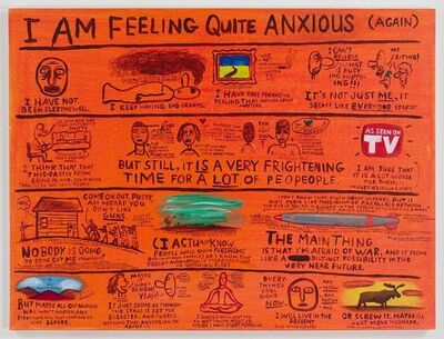Jim Torok, 'I Am Feeling Quite Anxious ', 2016