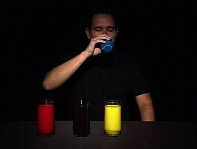 Armando Queiroz, 'Bebendo Mondrian [Drinking Mondrian]', 2007