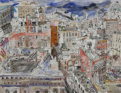 Olive Ayhens, 'Soho Neighborhood', 2010