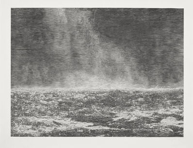 Christiane Baumgartner, 'Silver Rain III', 2019