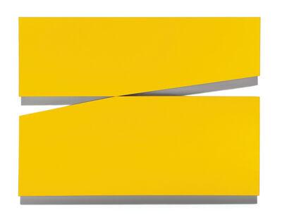 "Carmen Herrera, 'Amarillo ""Uno""', 1971"