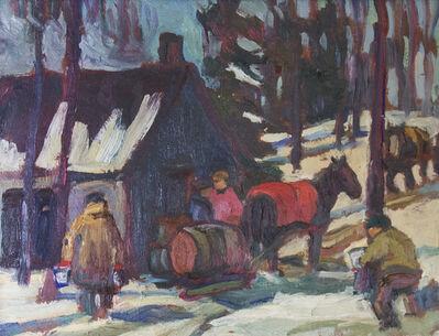 Kathleen Morris, 'Maple Sugar Time'