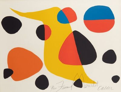 Alexander Calder, 'Floating Forms', 1965