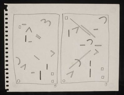 Keith Haring, 'Untitled, c.1978', 1978