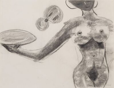 Gerald Donato, 'Untitled: Nude with Plate', 1985