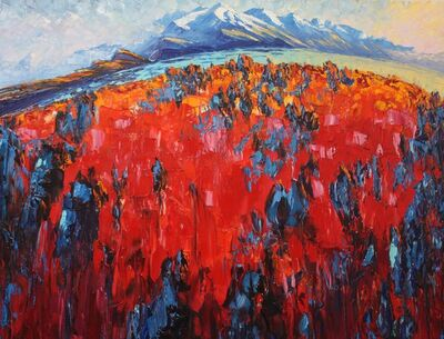 Richard Ponder, 'Wanaka Lakes', 2019
