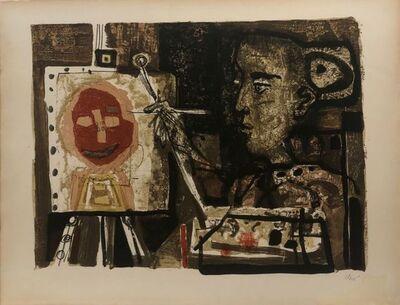 Antoni Clavé, 'Femme artiste ', 1953