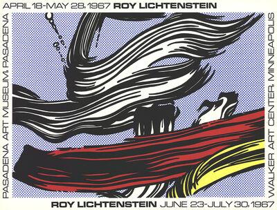 Roy Lichtenstein, 'Brushstrokes at Pasadena Art Museum', 1967
