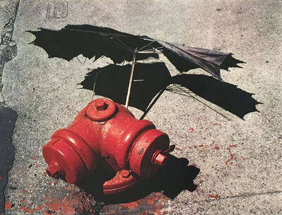 Arthur Siegel, 'Untitled  (Fire Hydrant and Umbrella)', ca. 1950