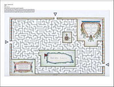 Andres Matias Pinilla, 'Mapa Laberinto #2', 2016