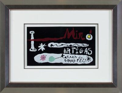Joan Miró, 'Miro & Artigas - Sculpture in Ceramic Terres de Grand Feu', 1956