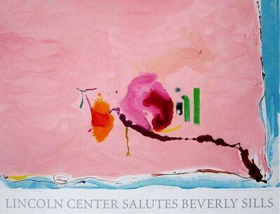 Helen Frankenthaler, 'Flirt, 2003 Lincoln Center Beverly Sills Salute's Silkscreen', 2003