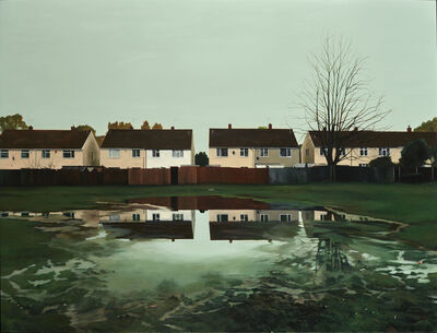 George Shaw (b. 1966), 'The World Turned Upside Down', 2019
