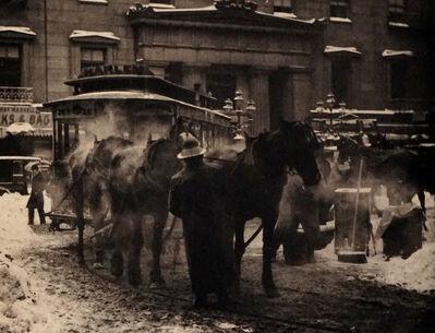 Alfred Stieglitz, 'The Terminal', 1892 (Printed 1911)
