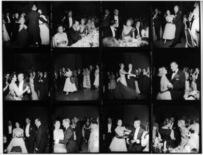 Slim Aarons, 'Windsors Dancing in NY, 1953: The Duke and Duchess of Windsor, Constance Carpenter, Milton 'Doc' Holden, C.Z. Guest, and other guests at the Waldorf Astoria', 1953