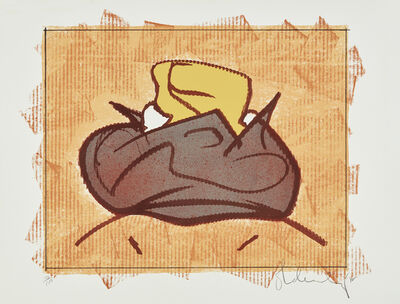 Claes Oldenburg, 'Baked Potato with Butter', 1972
