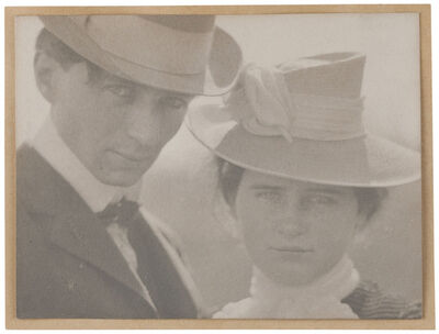Edward Steichen, 'Self-Portrait with Sister, Milwaukee', 1900