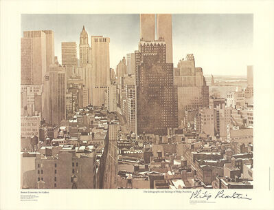 Philip Pearlstein, 'View Over SoHo, Lower Manhattan', 1979