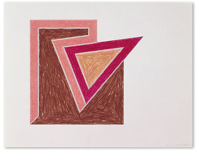 Frank Stella, 'Tuftonboro ', 1974