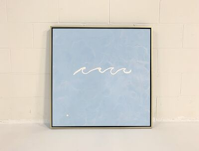 John O'Hara, 'Wave, Blue.', 2019