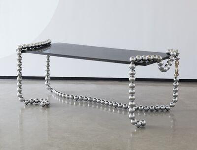 Mattia Bonetti, 'Broken Pearl Necklace desk', 2010