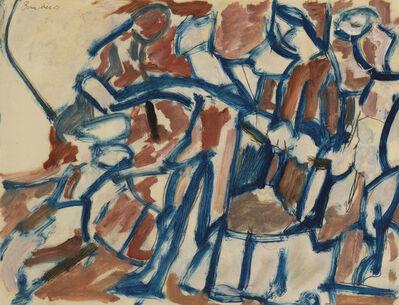 David Bomberg, 'Ghetto Theatre Study', ca. 1920