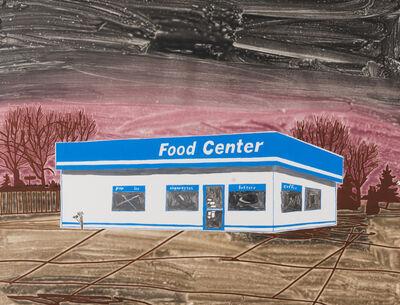 Carolyn Swiszcz, 'Food Center (Brown)', 2017