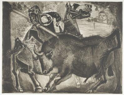 Pablo Picasso, 'Taureau et Picador  ', June 17-1952
