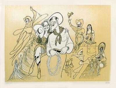 Al Hirschfeld, 'Will Rogers', 1991