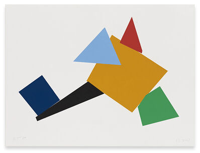 Joel Shapiro, 'Up Down Around (d)', 2011