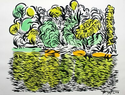 Andrzej Fogtt, 'A lake', 2005