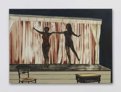 Mamma Andersson, 'Behind the Curtain', 2014