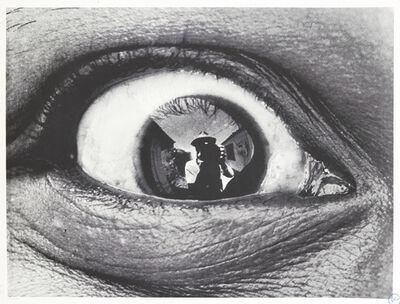 JR, 'Self-Portrait in a Woman's Eye, Kenya', 2010