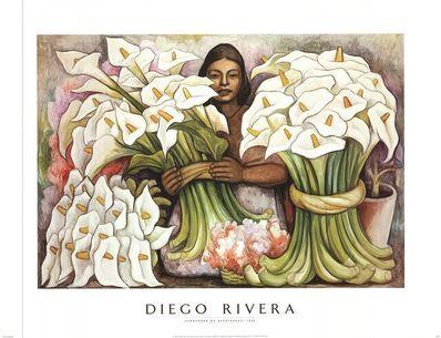 Diego Rivera, 'Vendedora de Alcatraces', 1995