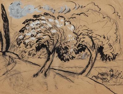 Marianne von Werefkin, 'Albero fiorito', 1917