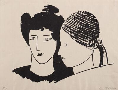 Stuart Davis, 'Two Heads (C. & M. 13)', 1929